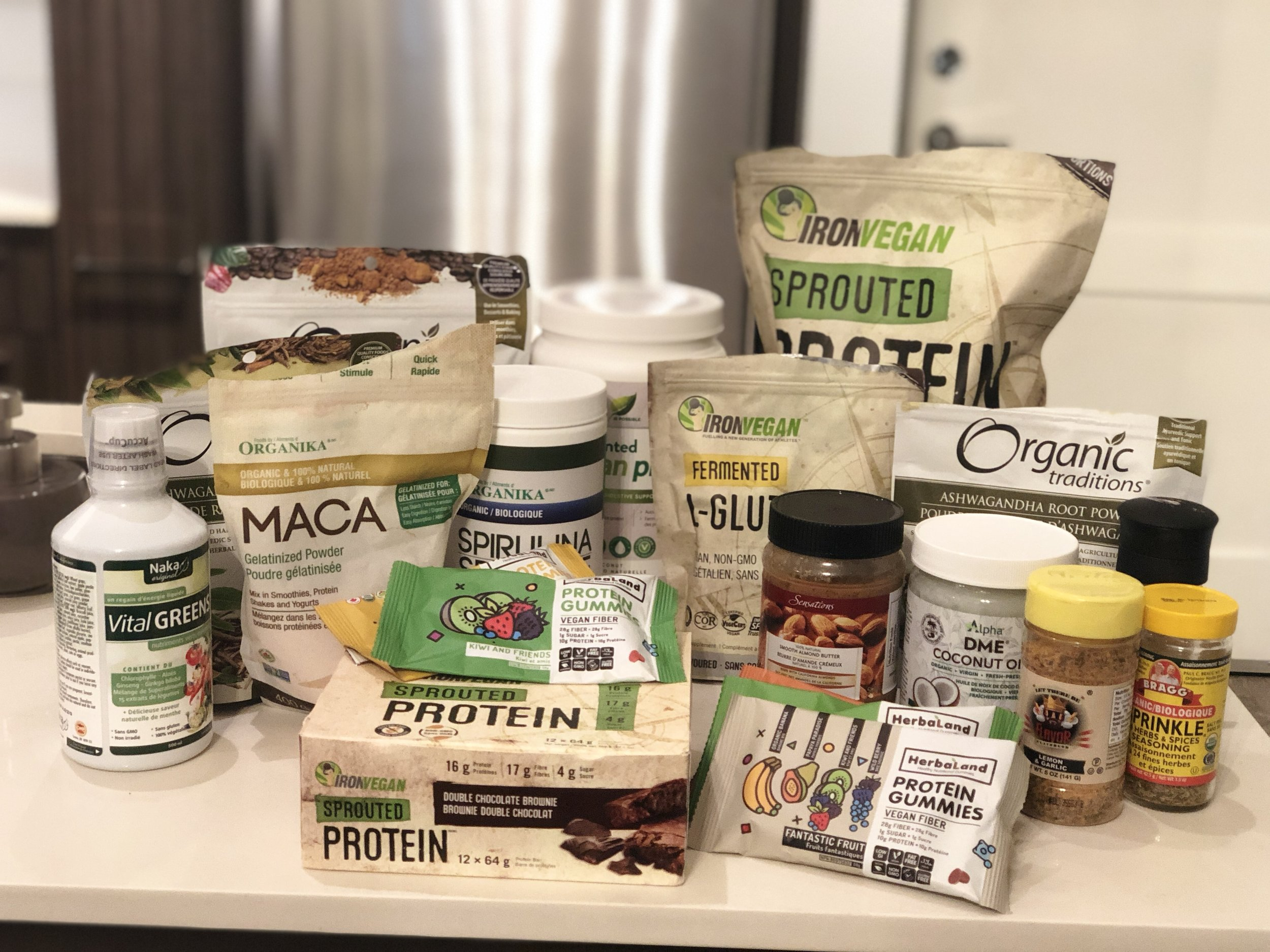 Supplements from  Vitasave.ca  &  Herbaland