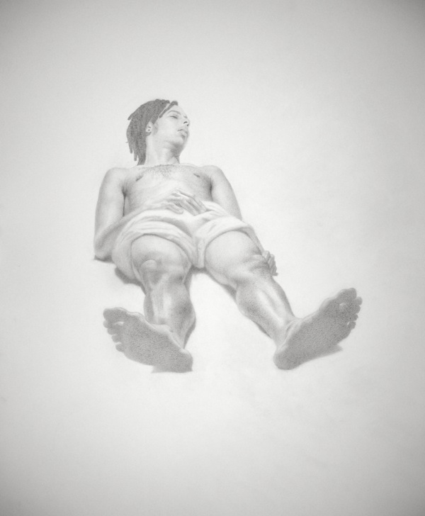 AJ by Christopher Tsongas, Graphite on Paper