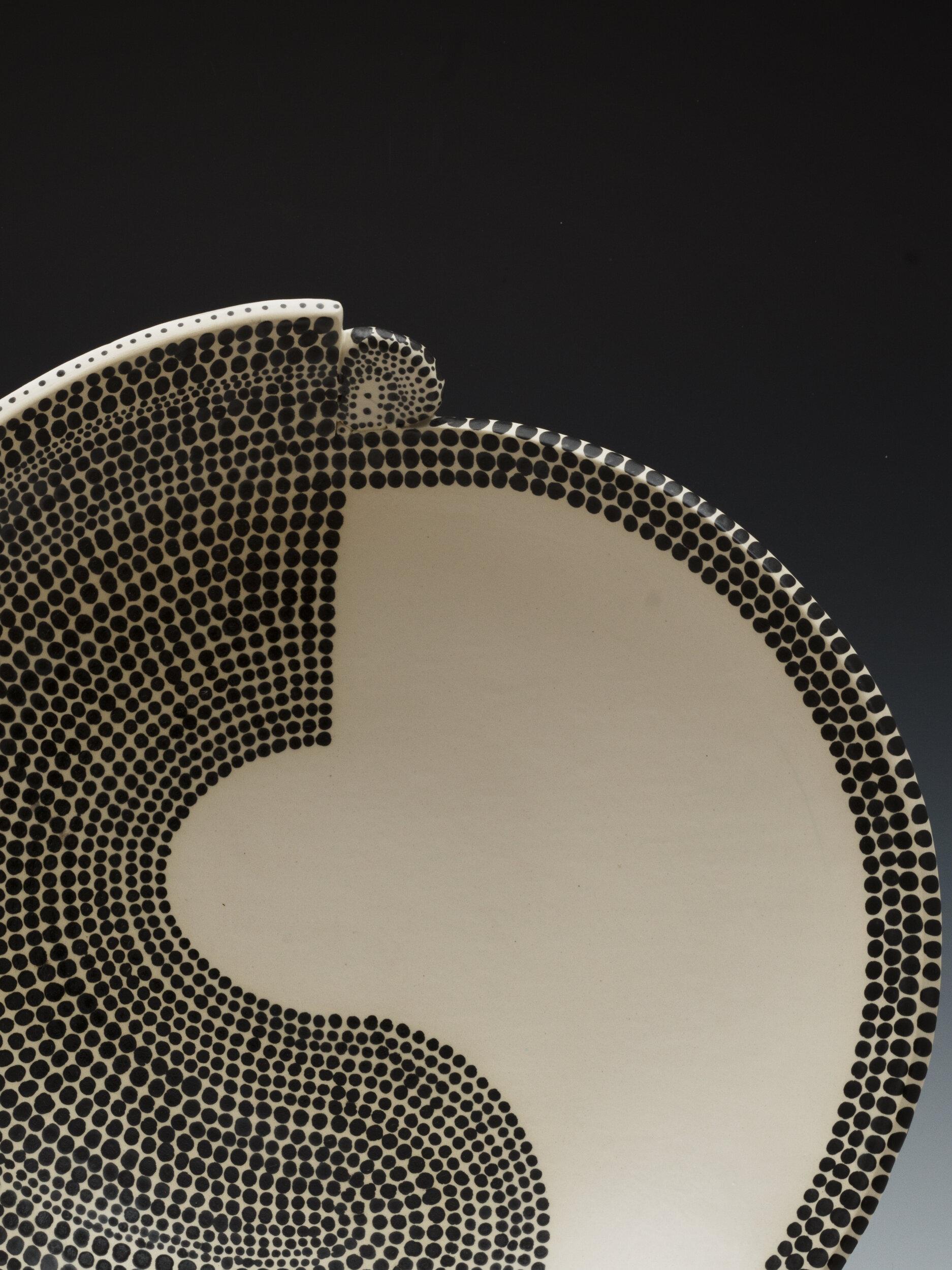 Detail, Mimbre Pattern Painting Inspired, Yen Yang