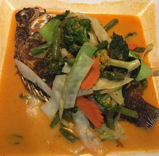 Pls Nin Thod w Penang Curry Sauce