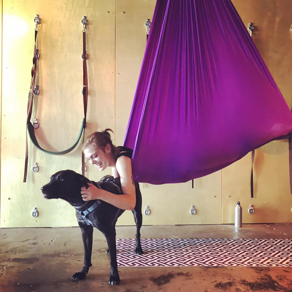 Puppy Yoga - Aerial Yoga with your dog! BYOP: bring your own puppy :)October 14 at 12:30