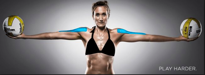 KinesioTaping assessment & application - Angela Yong Sellers is a Certified KinesioTaping Practitioner (CKTP) and available to help you reduce pain and keep moving! Schedule an appointment now. The KinesioTaping method is a therapeutic taping technique that lifts the skin away from the underlying tissue. This space that is created between the muscle and the dermis allows for reduction in pressure and an increased flow of blood and lymphatic fluids in and out of the target area. The effects extend beyond fluid movement to include conditions such as orthopedic, neurological, neuromuscular, and some autonomic pathologies.