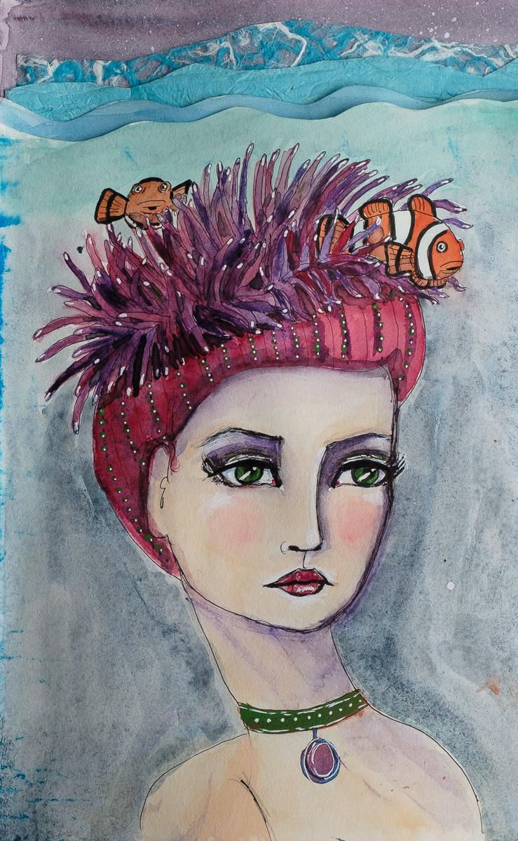 Anenome Hat Mermaid