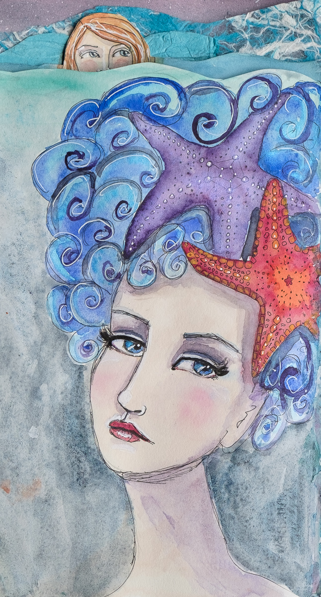 Sea Star Hat Mermaid
