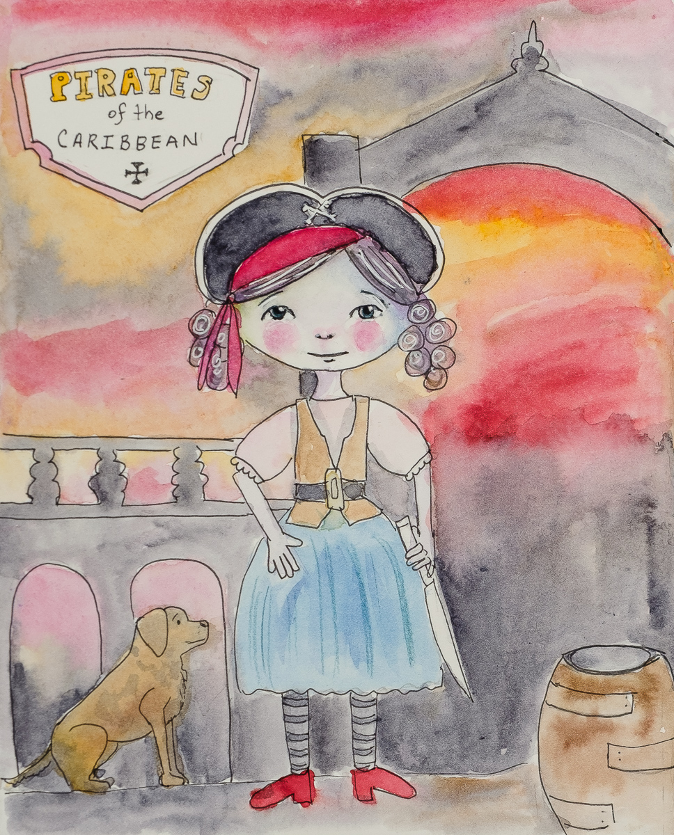 Little Pirate Girl