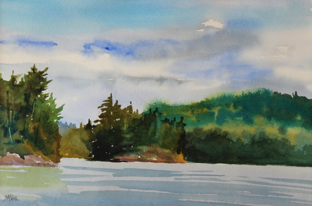 Pen Lake, Algonquin