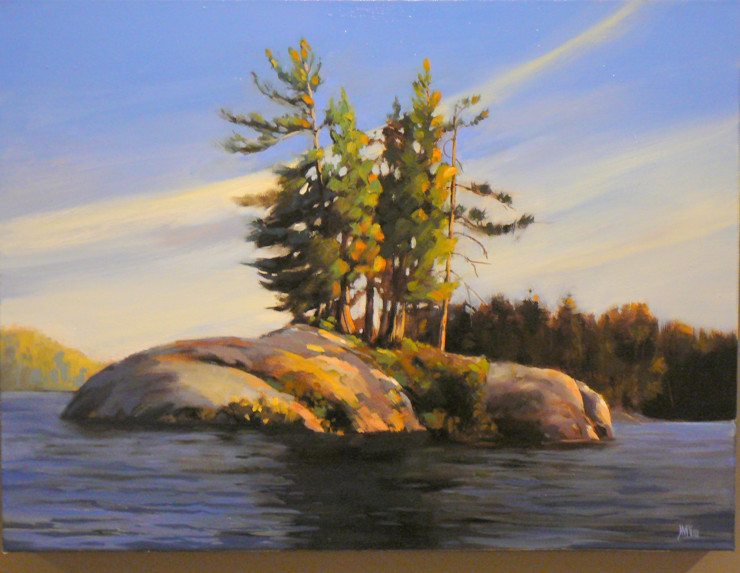 Gibson's Bay Island, Temagami   SOLD