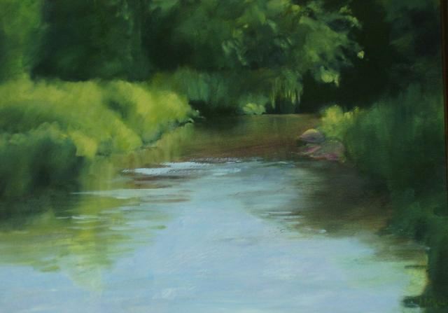 Evening, Beaver River   SOLD