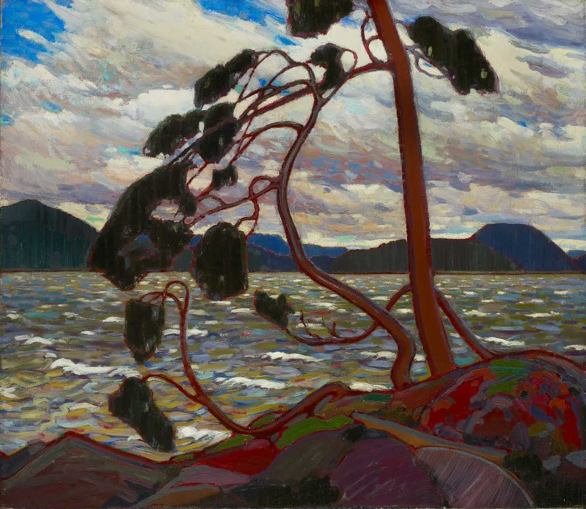 Tom Thomson,   The West Wind,   1917   Art Gallery of Ontario