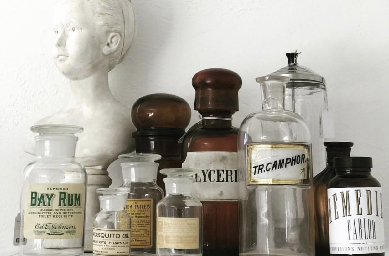 SHOP - Our online selection of apothecary, jewelry, antiques and more…