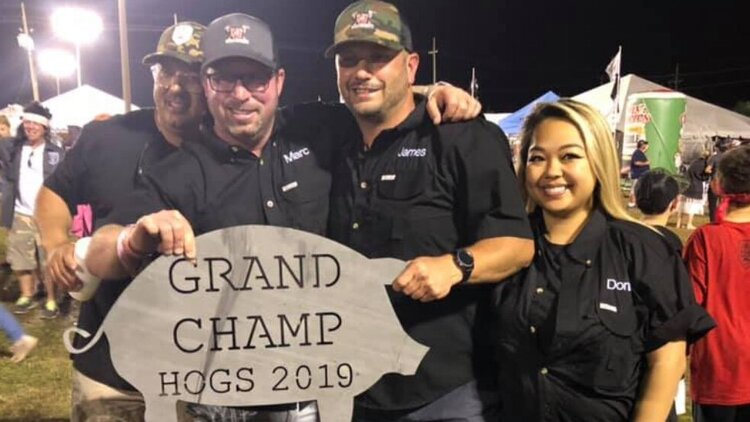 CCBBQ Pitmaster James Cruse is a three-time Hogs For The Cause Grand Champion.