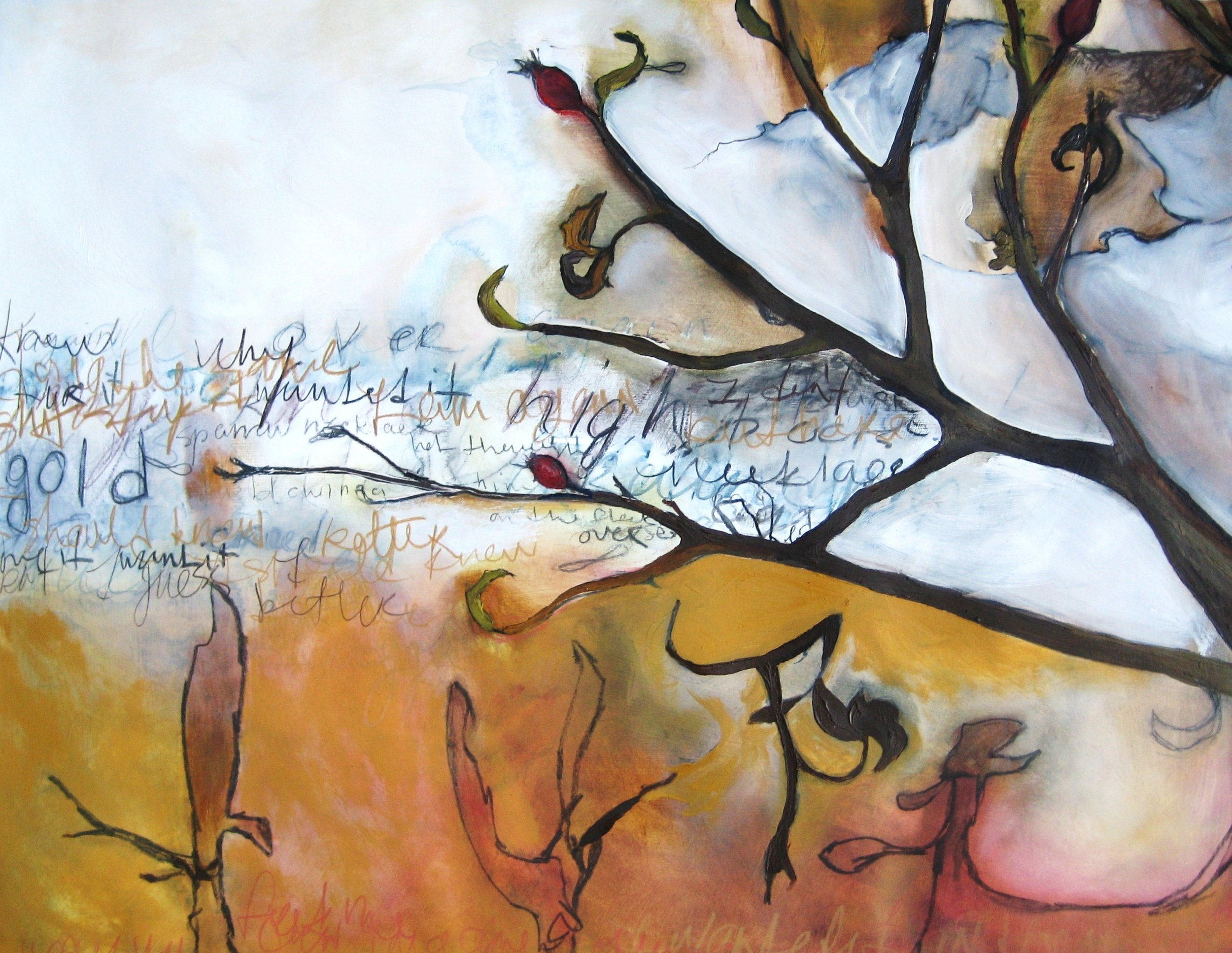 Rose Hip Abstraction