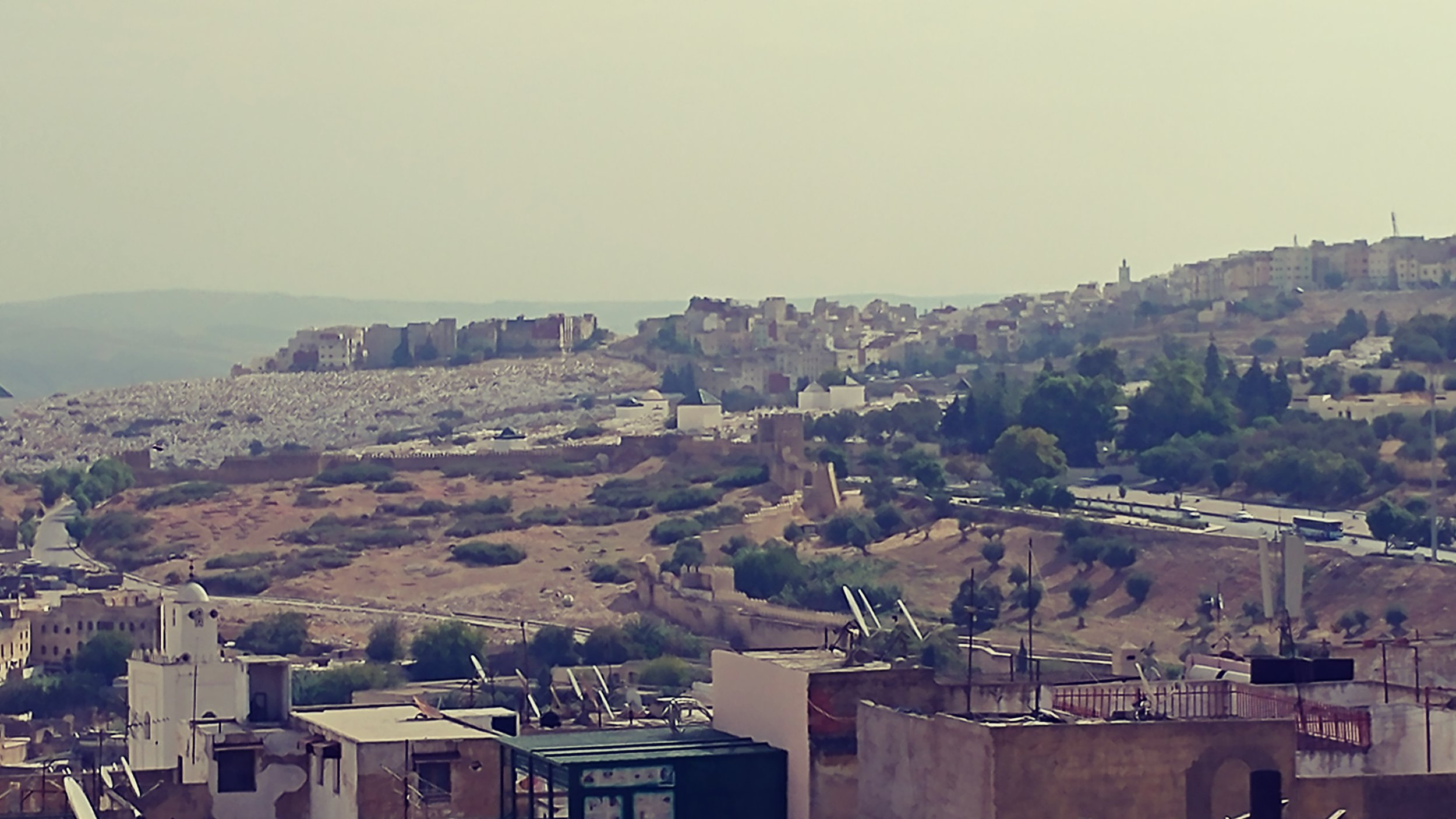 Ruins from Medina, in Fez.