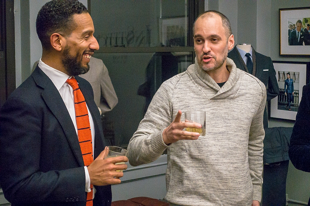 Manny Almonte, a man who really enjoy his libations, and Joe Cruz Jr., a man who knows how to make them