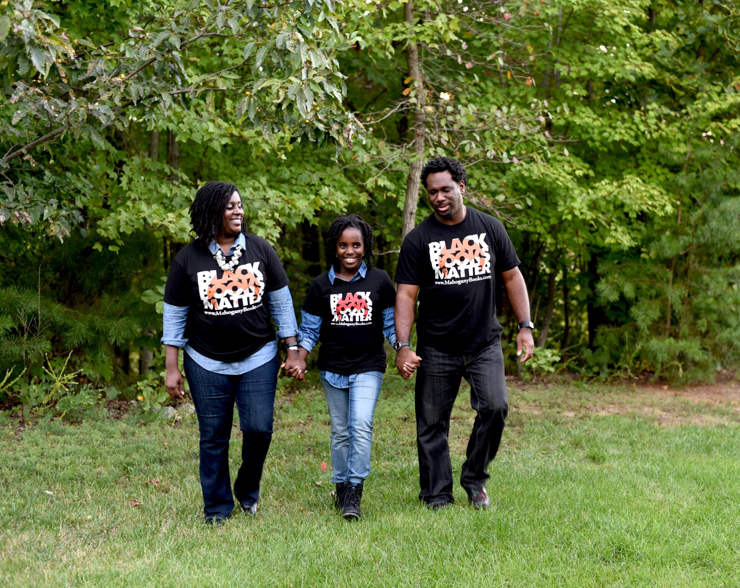 Pictured L to R: Ramunda, Mahogany, and Derrick Young