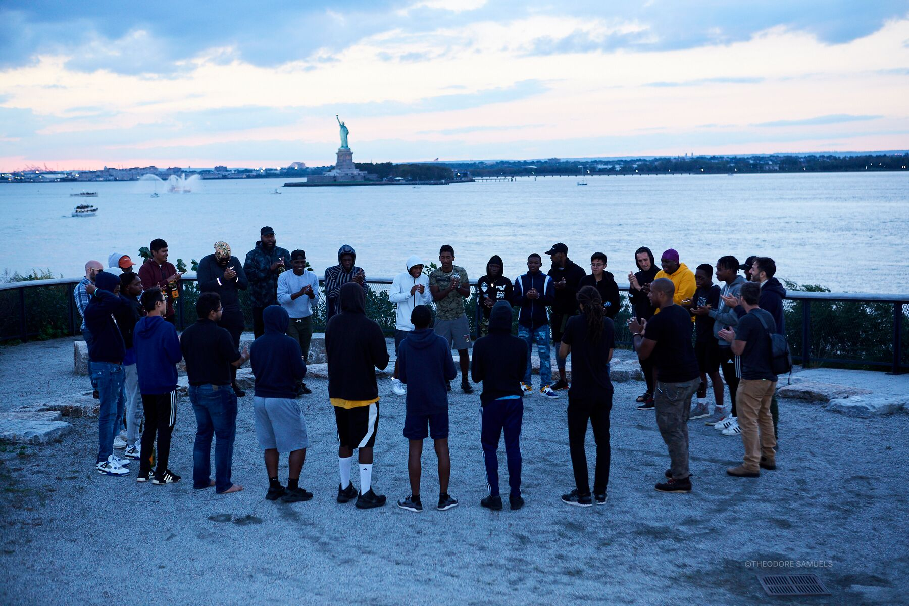 Camping to Connect at Governors Island, September 29, 2018