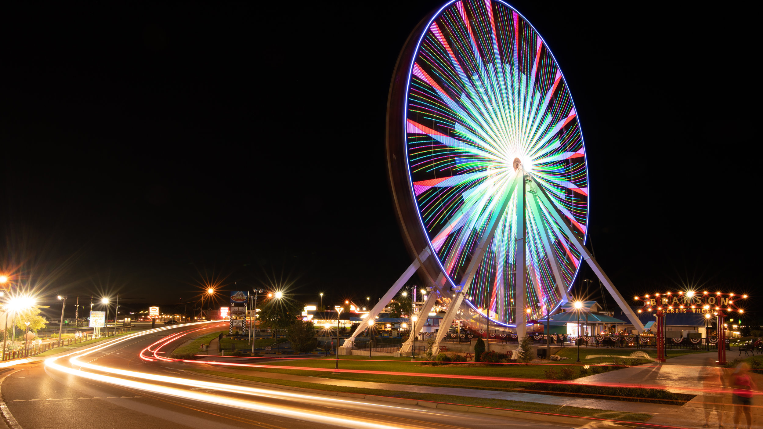 FerrisWheelatNight