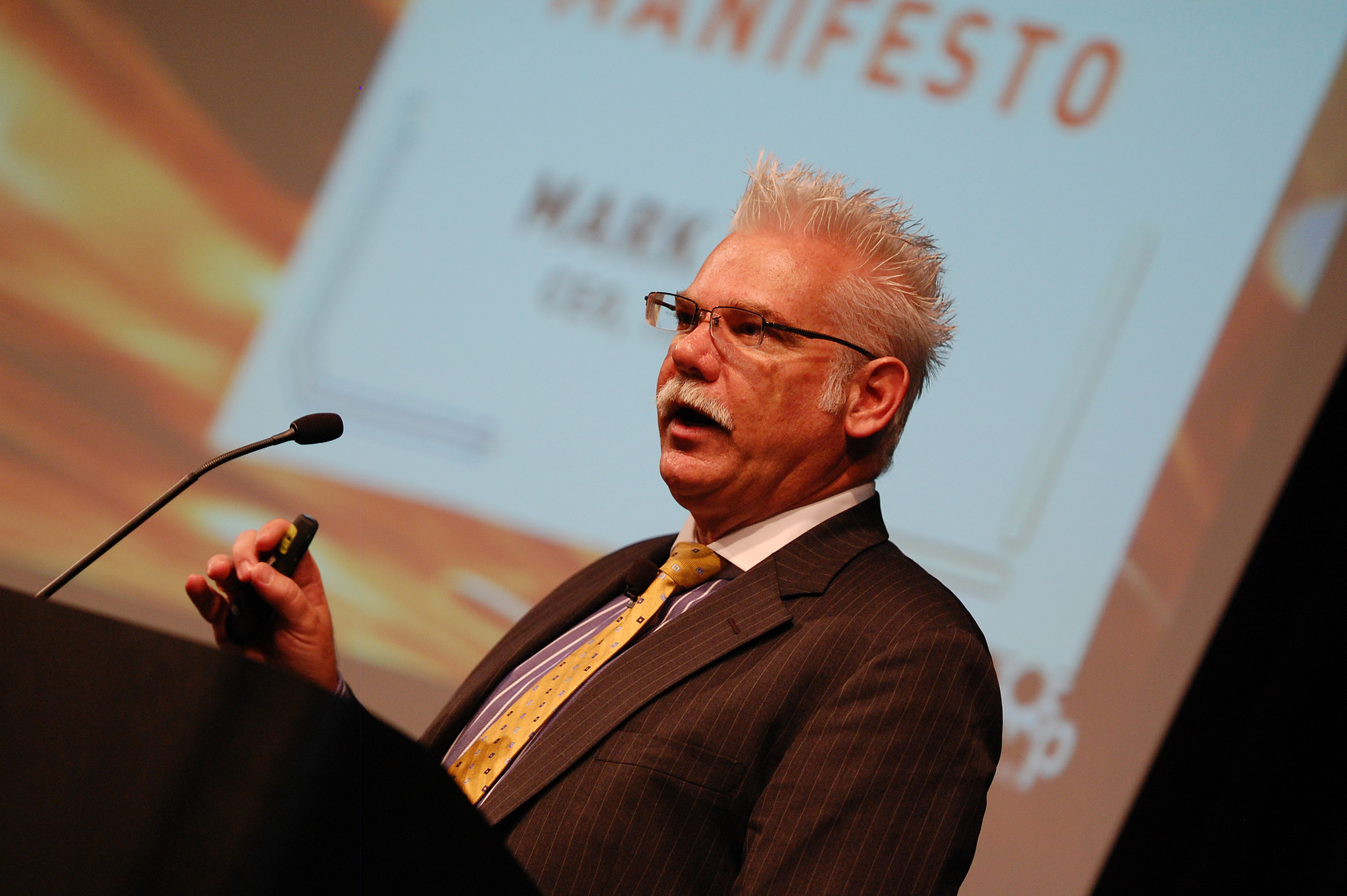 Mark Hatch, former CEO of TechShop and author of The Maker Movement Manifesto. Photo by Kevin Krejci.