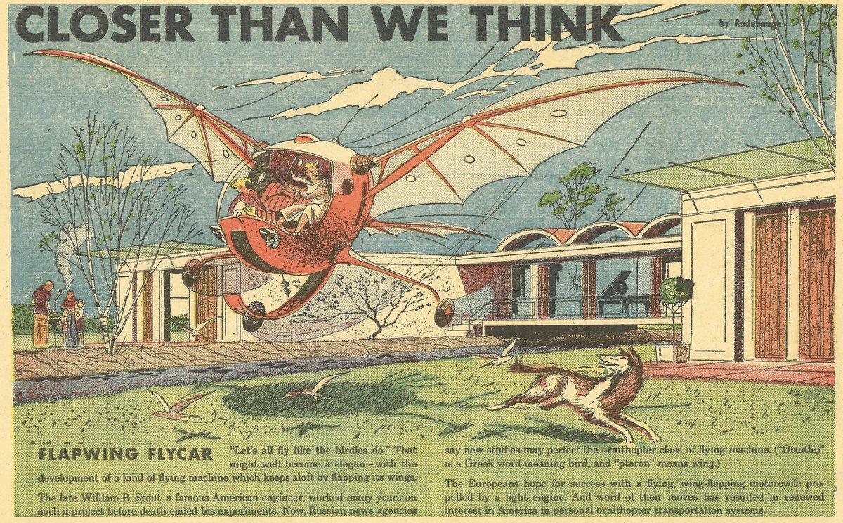 Flapwing Flycar
