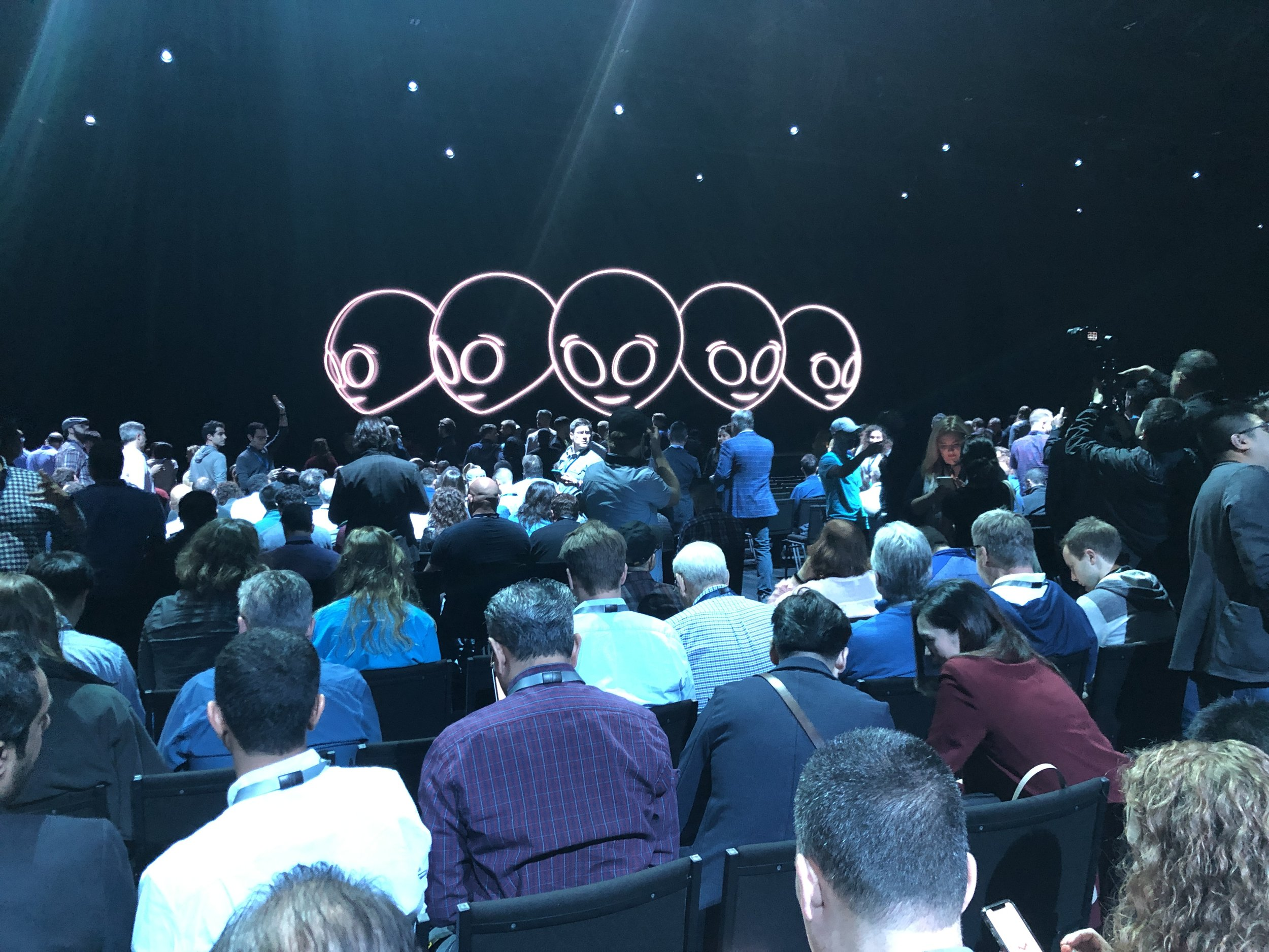 Waiting for the Keynote