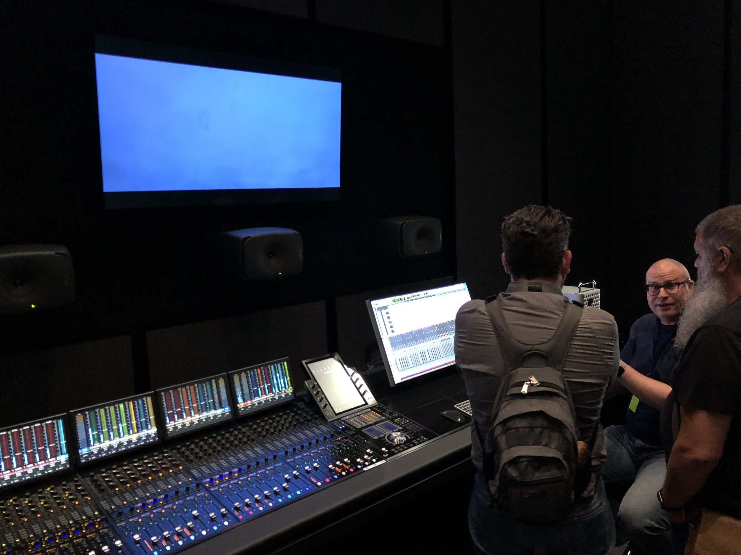Editing Suite in Mac Pro Studio