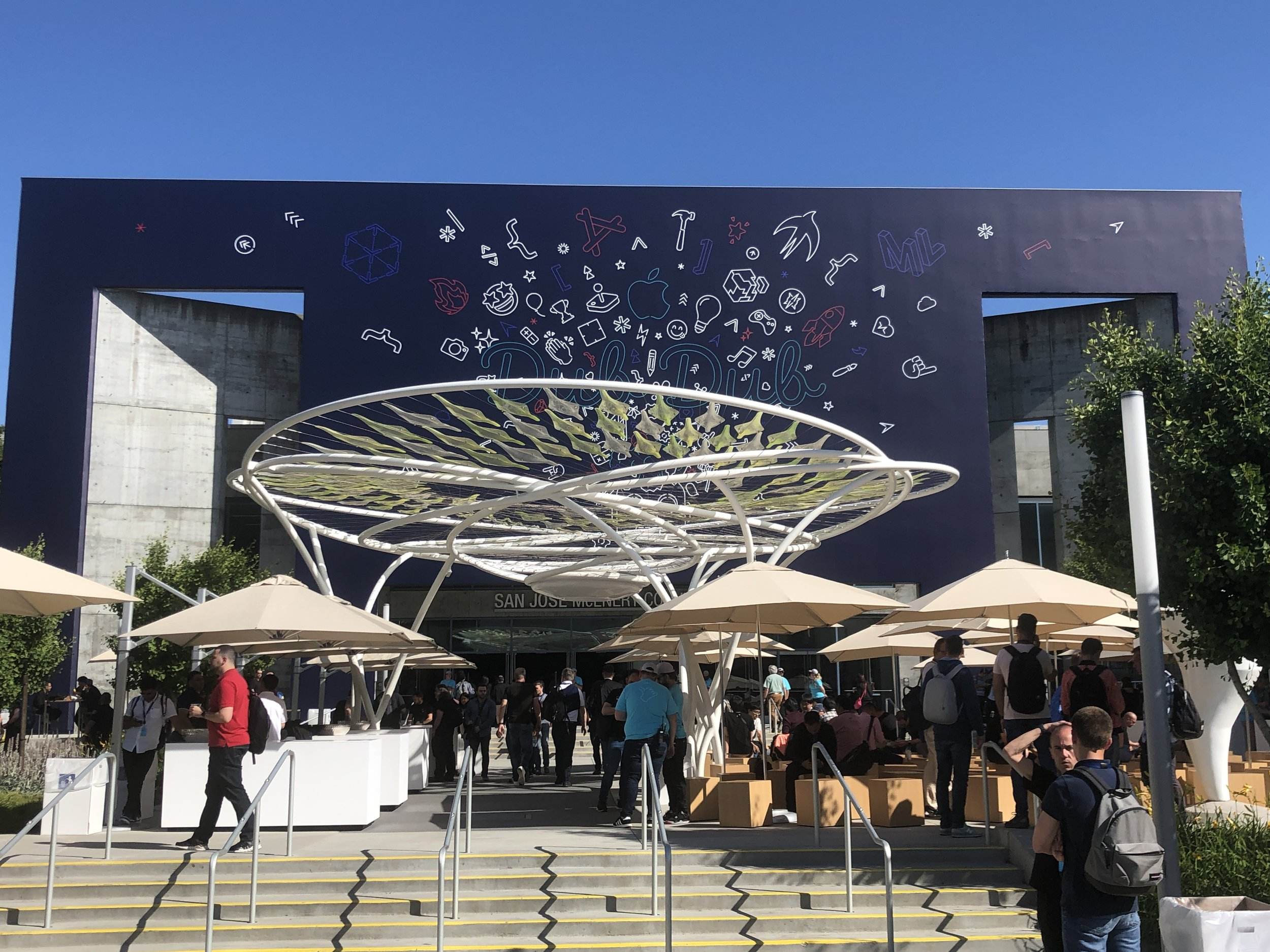 San Jose Convention Center Decked Out for WWDC