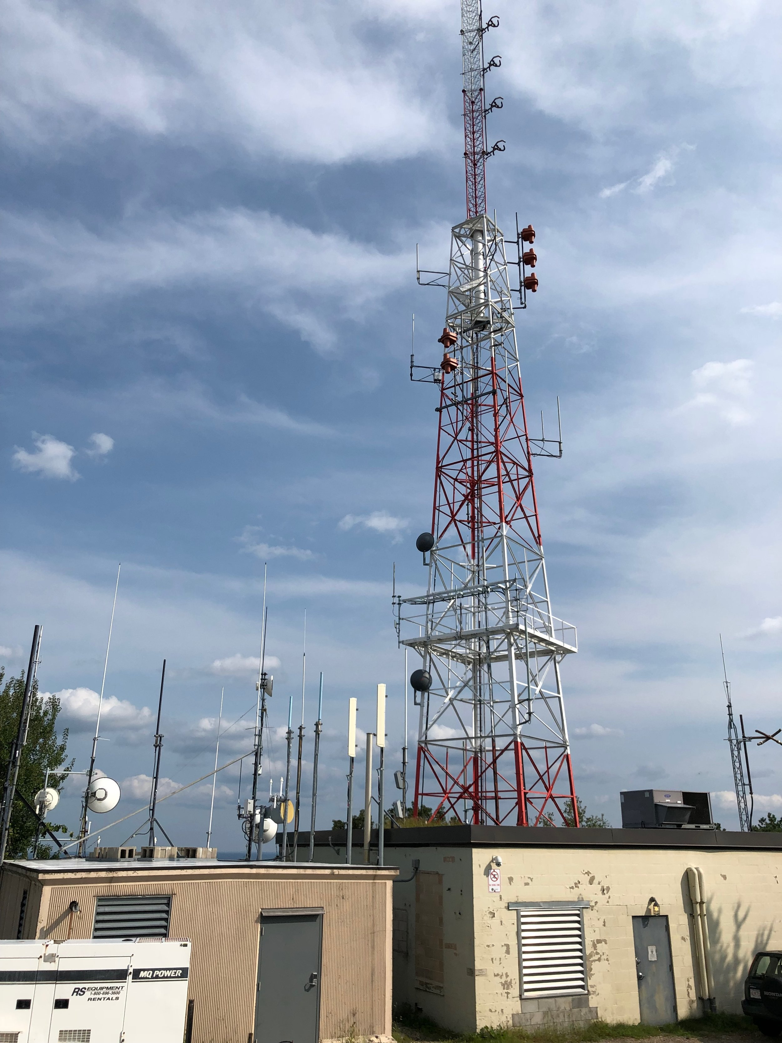 WGBH's radio and TV transmitter atop Great Blue Hill