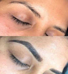 To define the overall shape. - Photo: Before and AfterService: Microblading and Shading