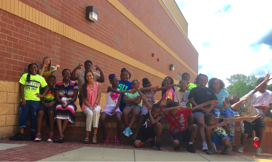 Ms. Ledford's 5th grade class during Summer 2017.