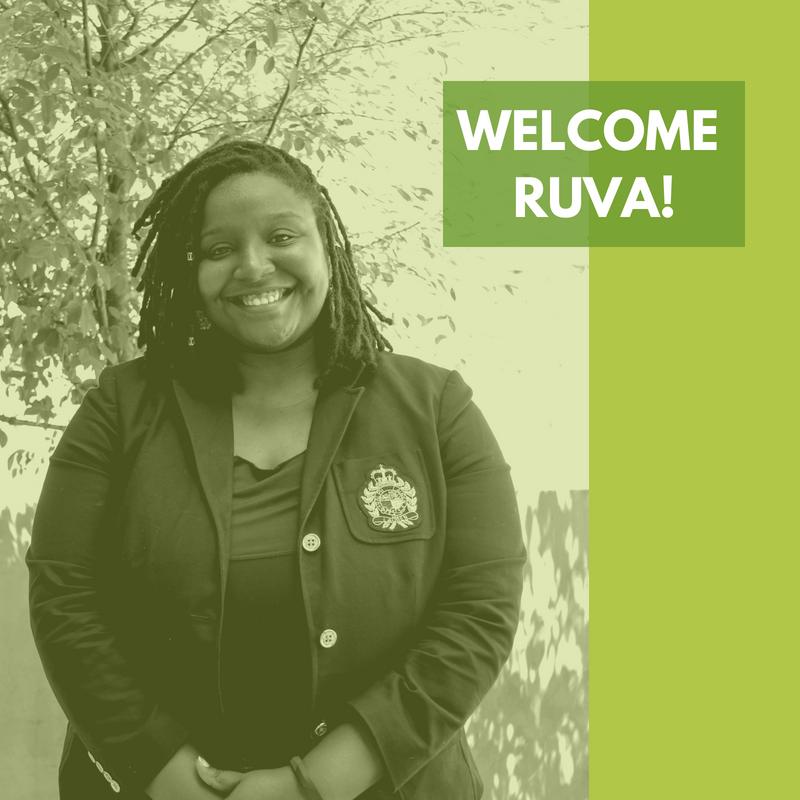 Welcome, Ruva Chimedza -- MEF's newest staff member!
