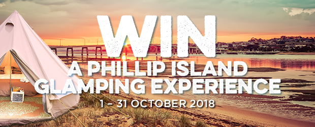 Congratulations to our lucky October Phillip Island Glamping Experience winner, GRAHAM BURGESS!