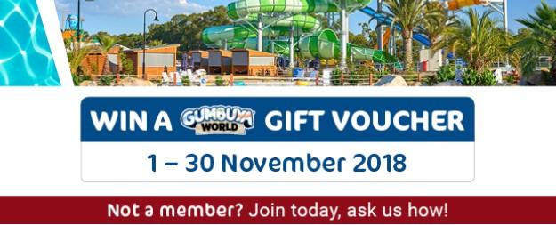 Congratulations to our lucky November Gumbuya World Gift Voucher winner, ELAINE SWAN!