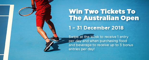 Congratulations to our lucky December Australian Open Tickets winner, TERRY WELLS!
