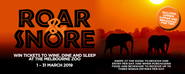 Congratulations to the lucky winner of our March Roar 'n' Snore Experience, DEBBIE ARBUTHNOT!