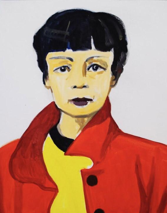 Portrait by Elizabeth Kresch