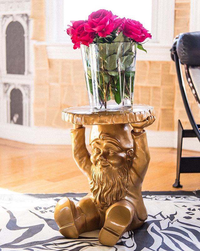 Nothing says home like a gold-knome-stool designed by Philippe Starck. Amirightorwhat?! #lamaisonginevraheld #kartell ⠀⠀⠀⠀⠀⠀⠀⠀⠀ Sent via @planoly #planoly #ihavethisthingwithcolor #stellarspaces #colorcolourlovers #mydomaine  #sodomino #interiorblogger #elledecor #howyouhome #pocketofmyhome #mystylishspace #vogueliving #interior #interiorinspiration #anthrohome #bohemianliving #currenthomeview #howwedwell #apartmenttherapy #mybohemianabode #designinspo #showmeyourboho #interiordesignlovers #dominomag #myhomevibe #sunsetmag #bohochicstyle