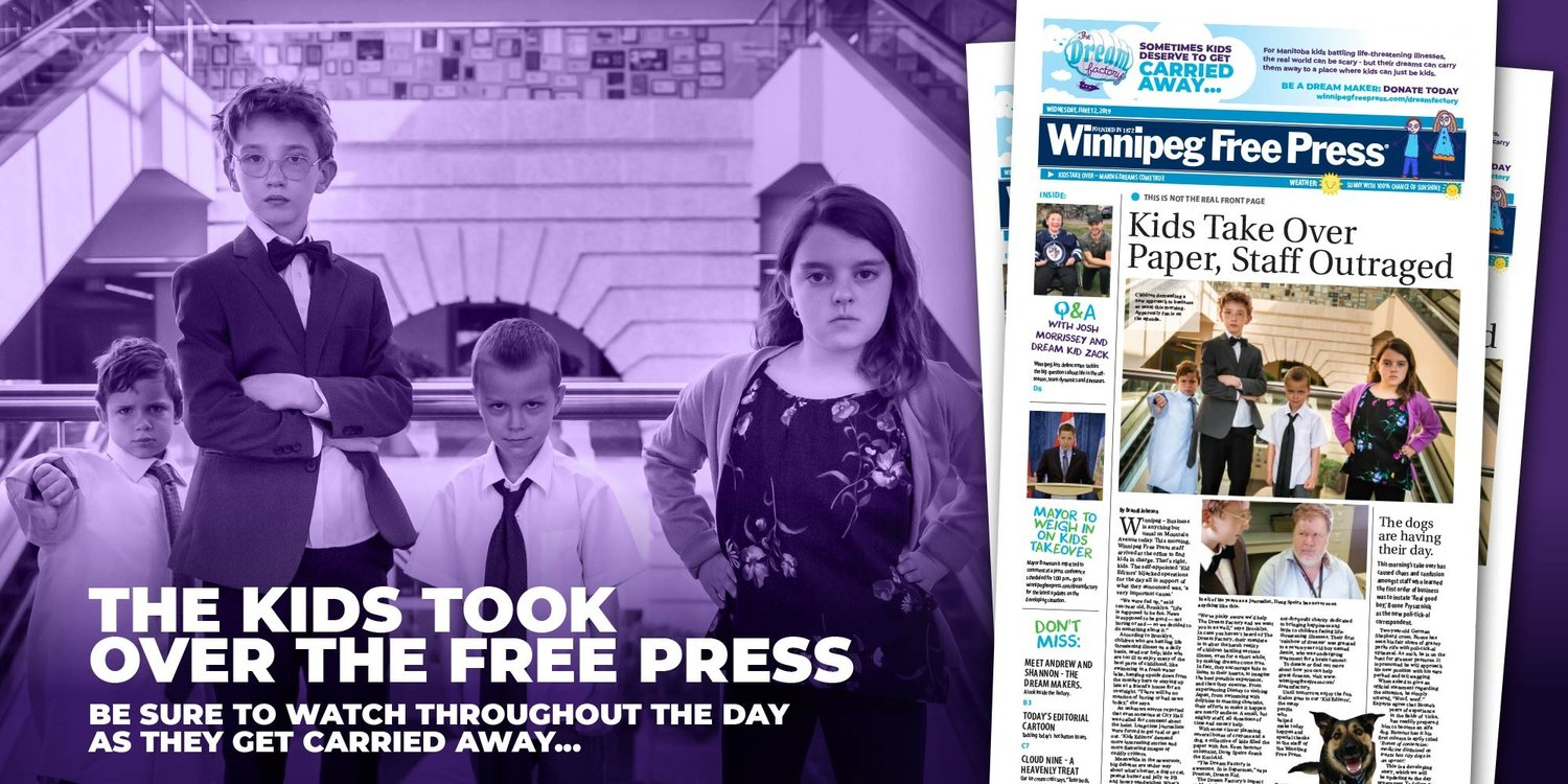 Kids-Take-Over-The-Winnipeg-Free-Press-The-Dream-Factory-Loudspace-Marketing.jpg