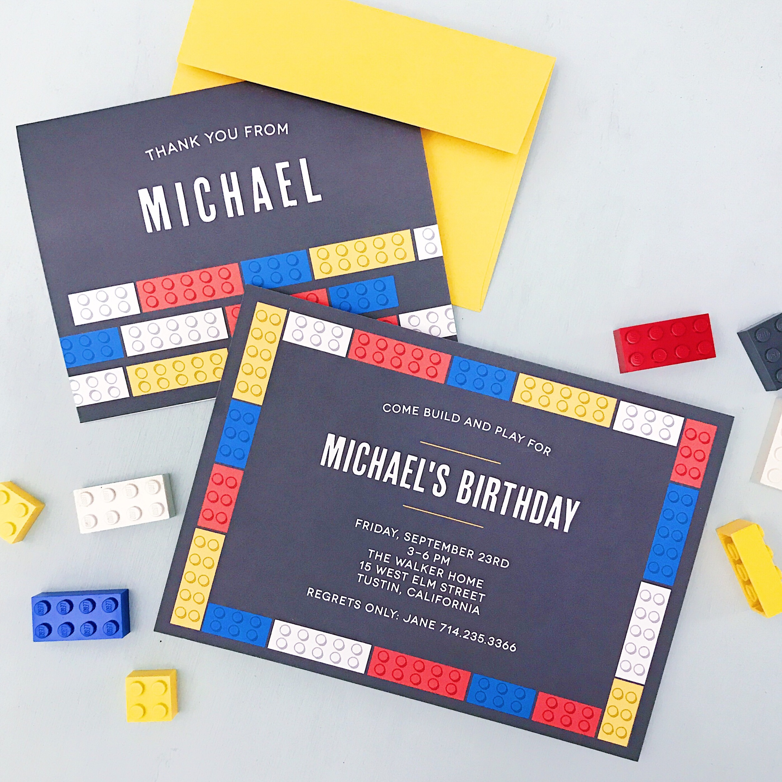 There's more! - See more cool birthday party invitation designs at BasicInvite.com.