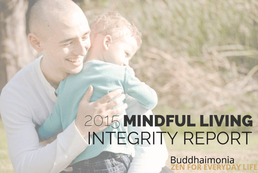 My 2015 Mindful Living Integrity Report