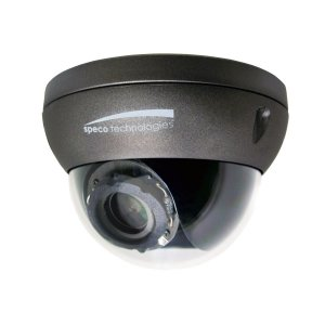 O2FD4M   Flexible Intensifier® Technology  1080p Indoor/Outdoor IP  Dome Camera, 2.8-12mm lens, Dark Grey Housing
