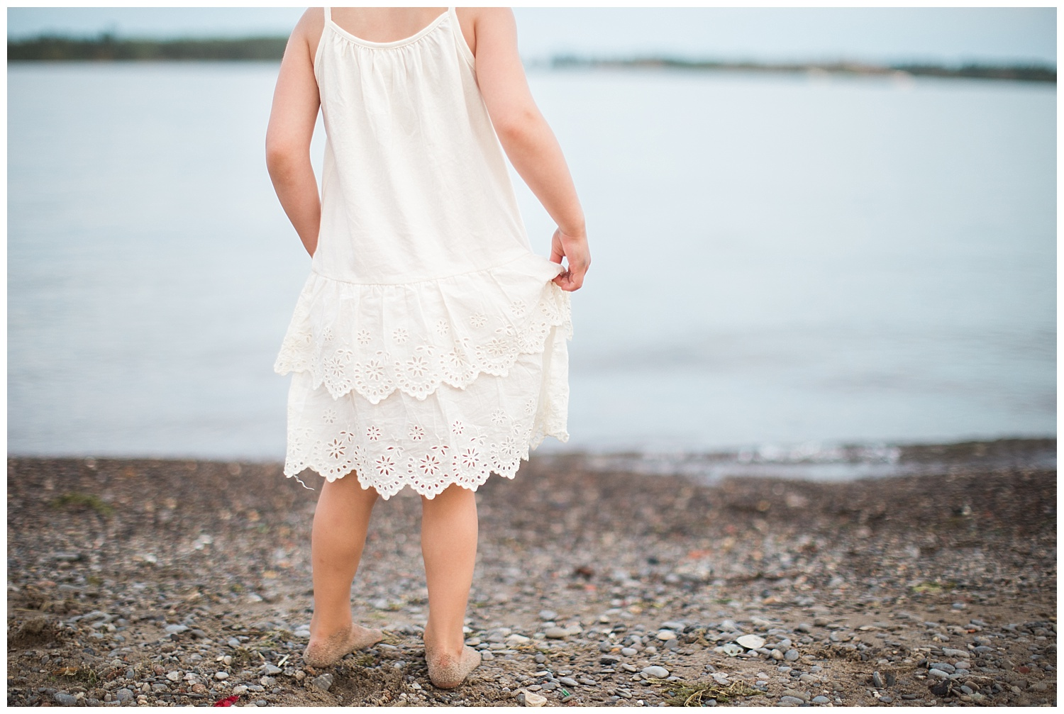 Cherry Beach Toronto Photo Girl Dress