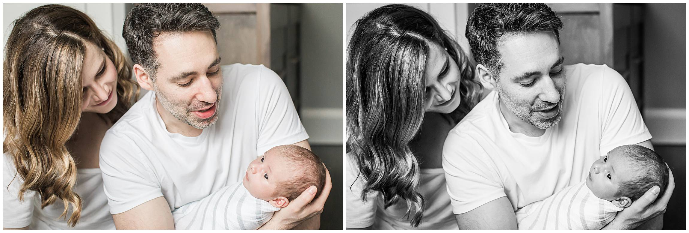 Rosedale newborn portrait session
