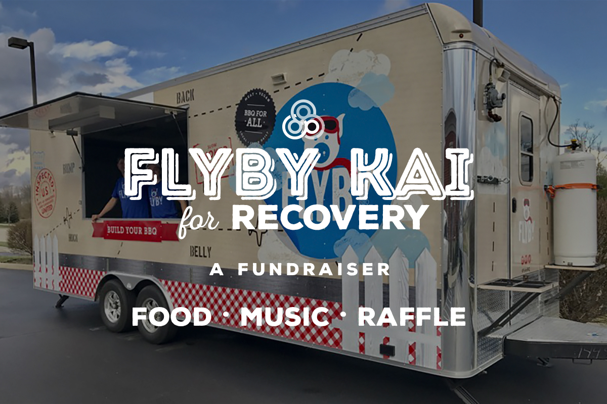 Flyby BBQ Truck and Kai Yoga Studio are teaming up to support one of our own!