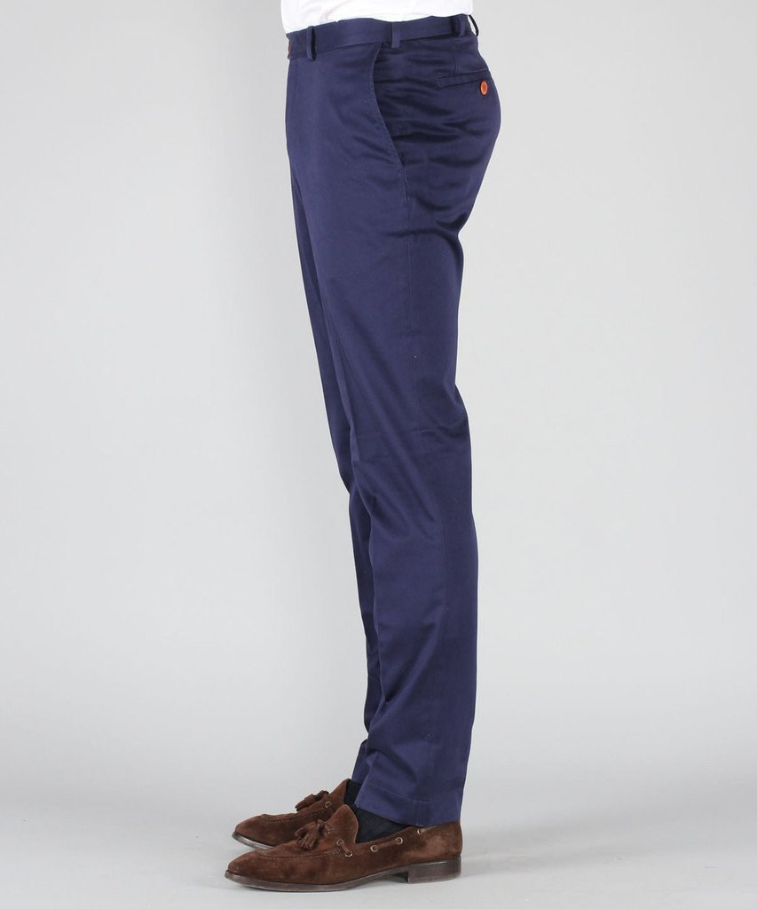 Slim Fit Trousers - 100 % Cotton   Price: CHF 189