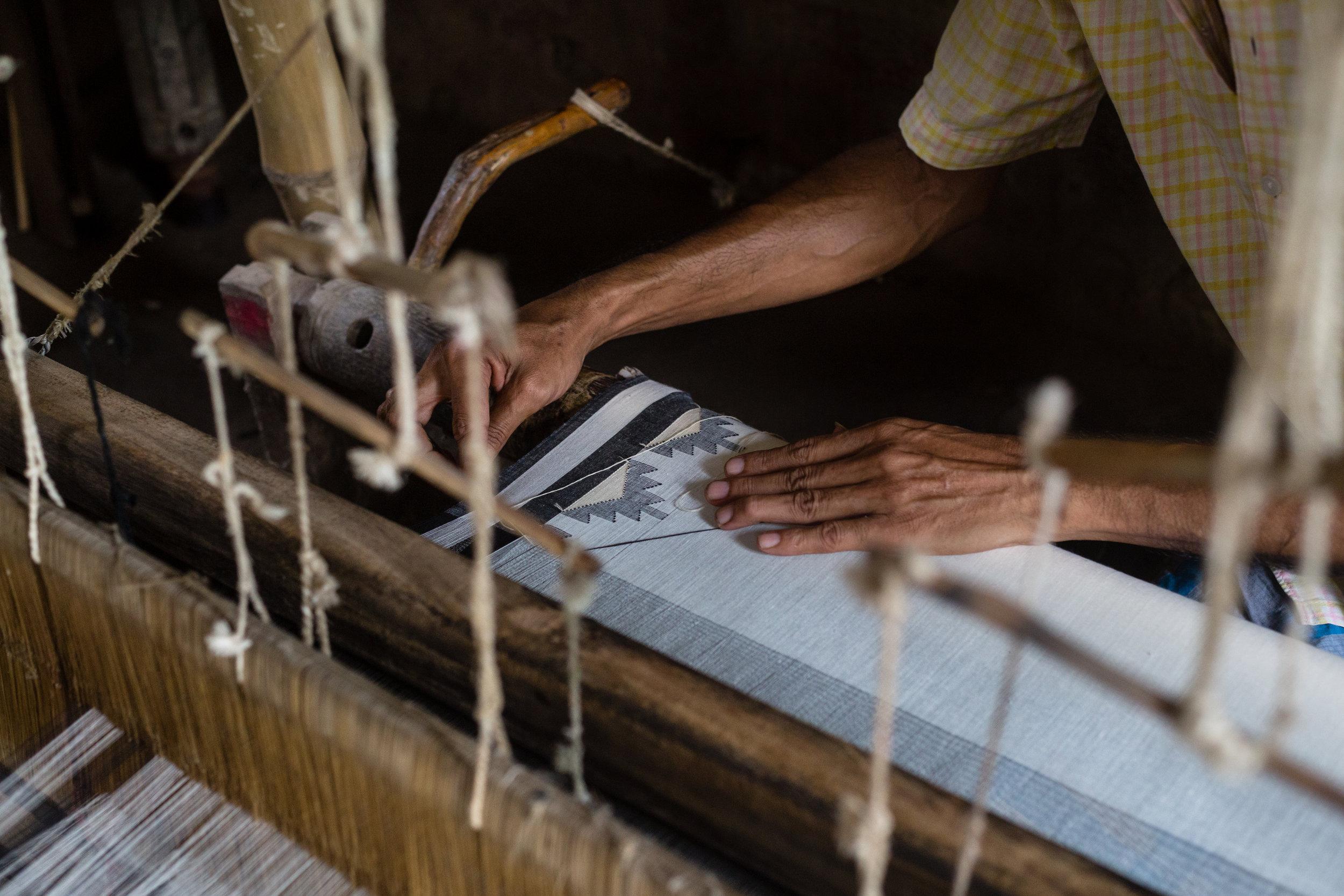 The Jamdani Weavers from Bengal - India