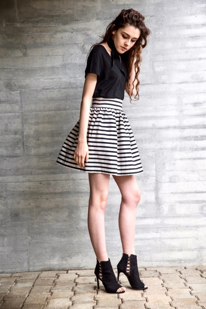 Puff Skirt -78 % cotton, 20% polyester, 2 % elastane - CHF 189