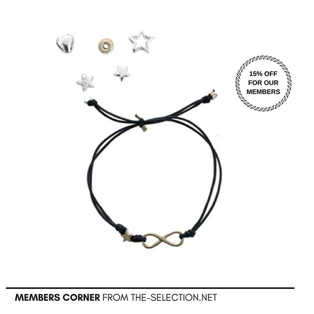"Show your love or friendship with this infinity bracelet from @herzundstern ⠀ ⠀ IT ALL STARTED WHEN...⠀ Marijana Projahn wanted to offer stylish and customised jewellery. She created Herz&Stern in 2011 and since then delights us with beautiful personal bracelets and necklaces.⠀ ⠀ For every item purchased, two Francs are donated to the foundation ""Stiftung für das kritisch kranke Kind "" (Paediatric Hospital Zürich). Marijana also collaborate with Pink Ribbon⠀ ⠀ *****Not Registered Yet****You can subscribe until the end of April and you will enjoy a 15% discount @herzundstern ⠀ ⠀ Support #swisssmallbusiness"
