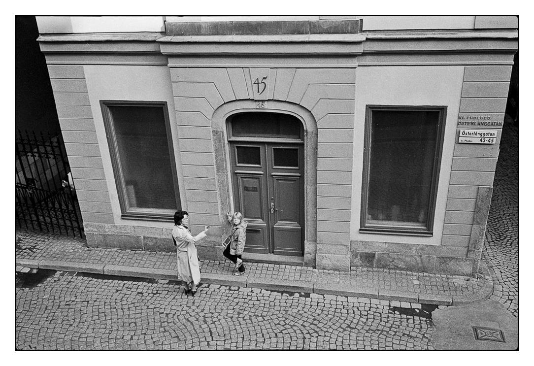 Stockholm, Sweden 1976