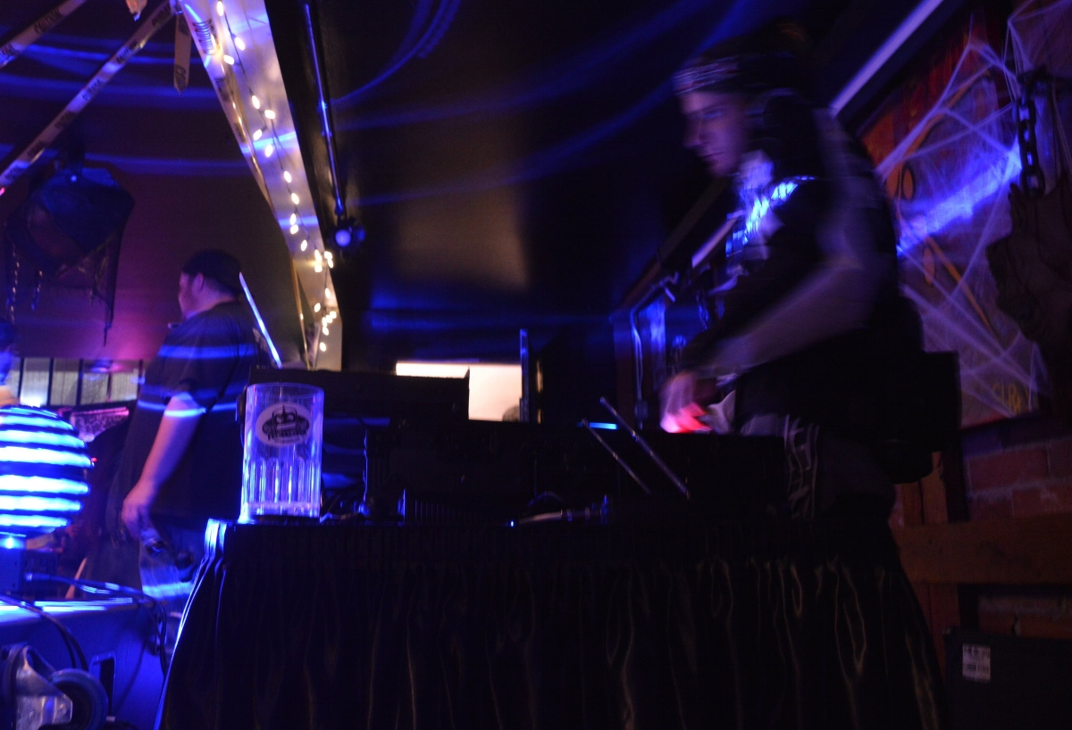 DJ Robotix and Travis the Bouncer