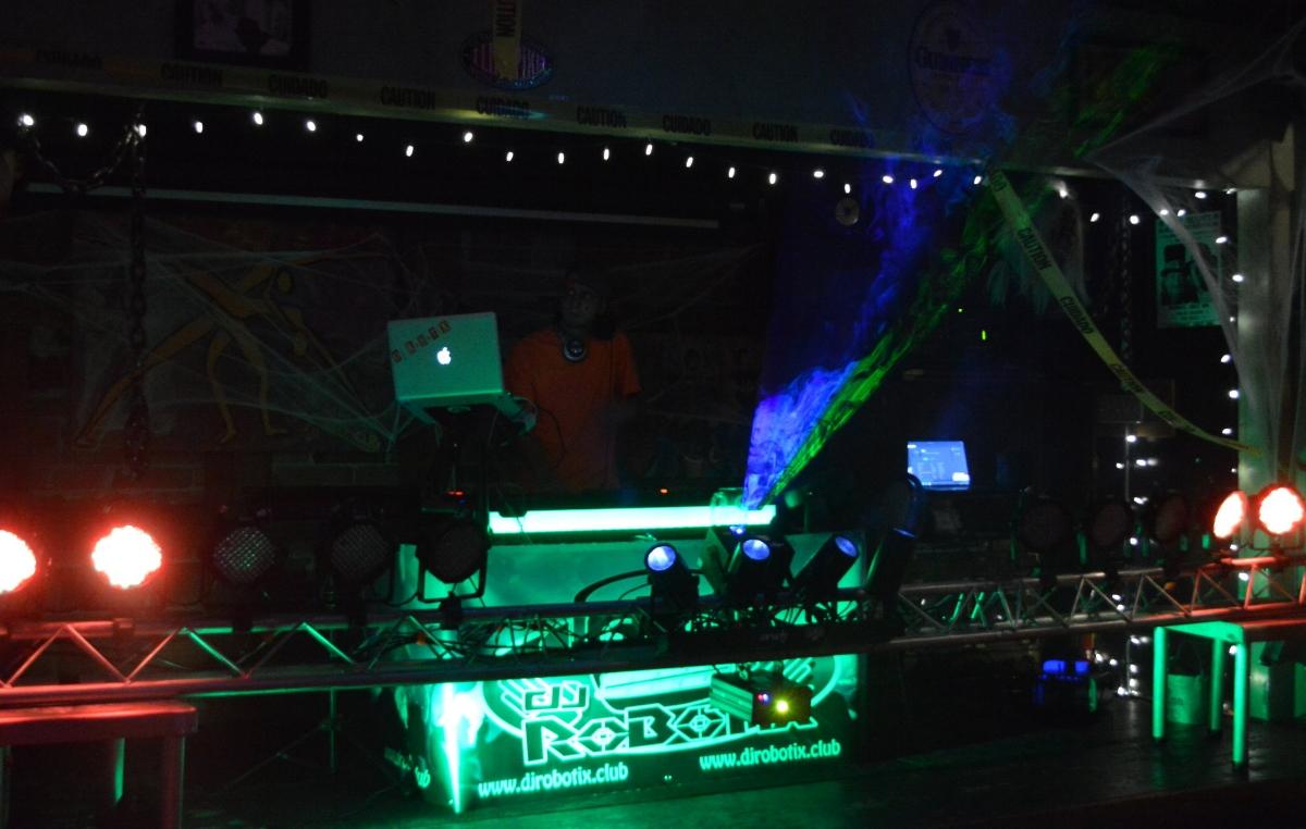 Spooky DJ Robotix